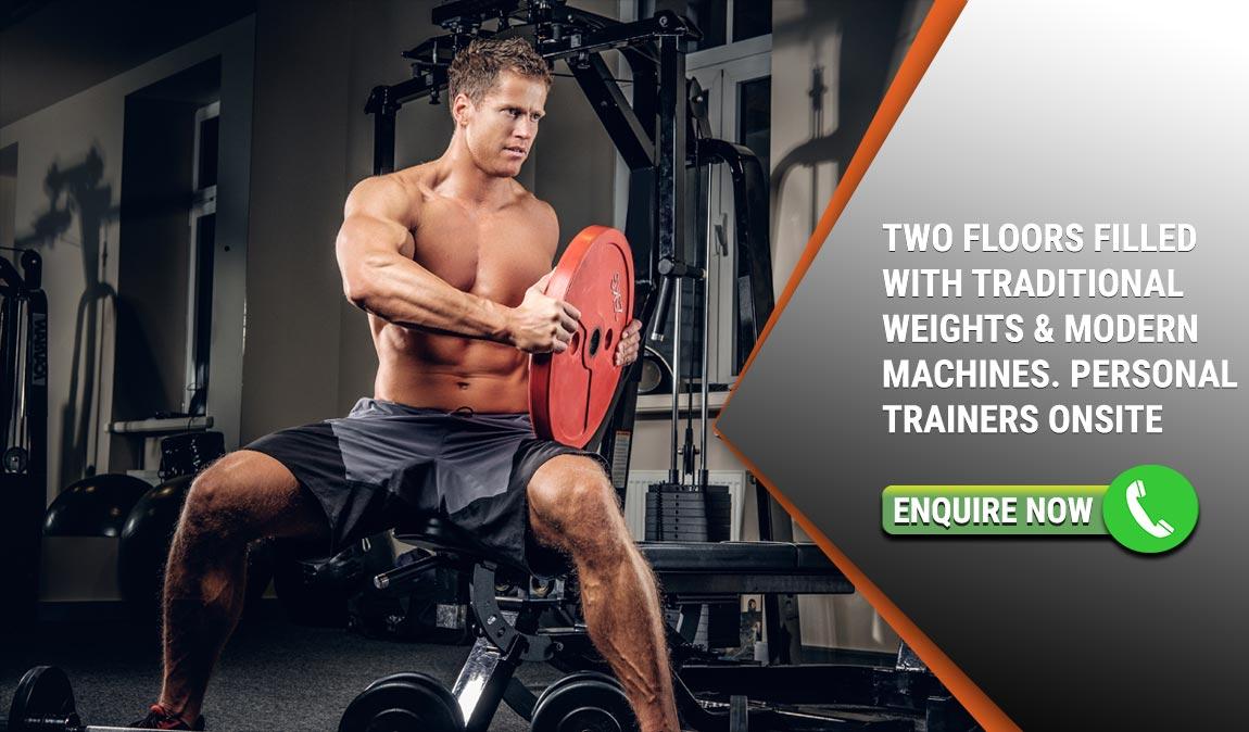 Free weights, machines - Gym Frankston